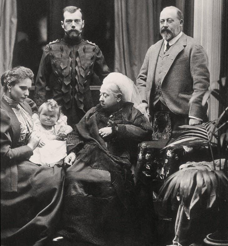 Imperador Nicolau II da Rússia, rei Eduardo V