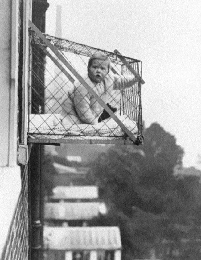 Assim crianças tomavam sol em 1930