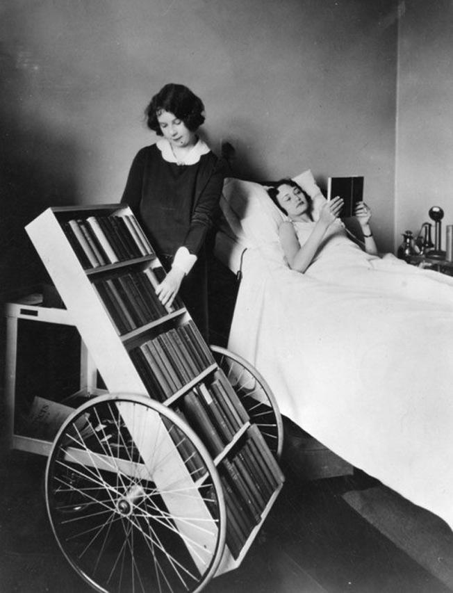 Progarma biblioteca pública para os doentes