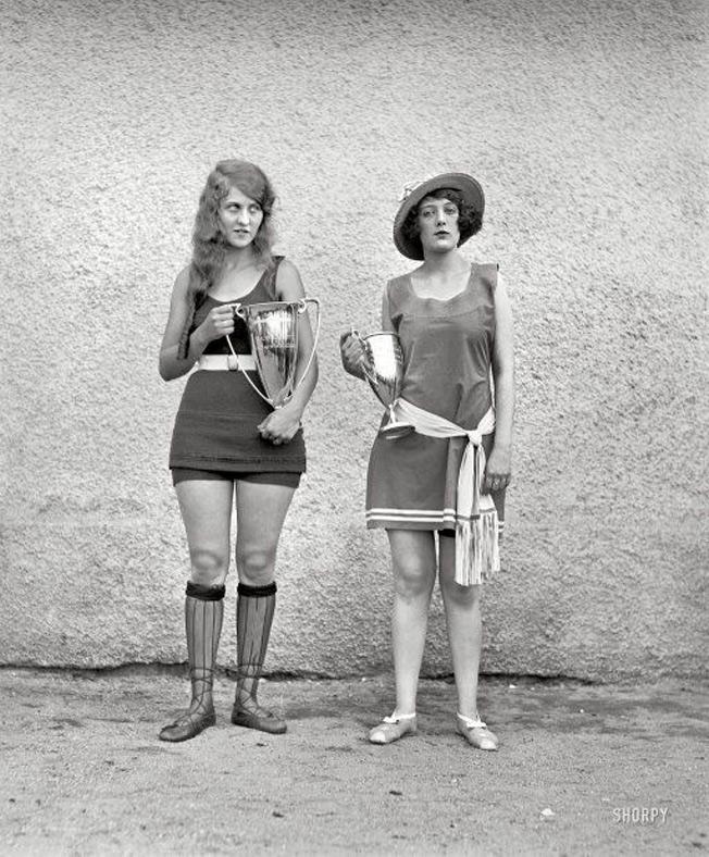 Vencedoras concurso de beleza - 1922