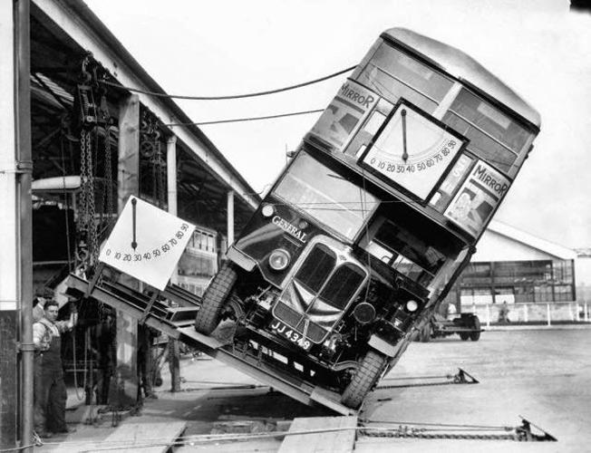 Provando que ônibus 2 andares não eram perigo