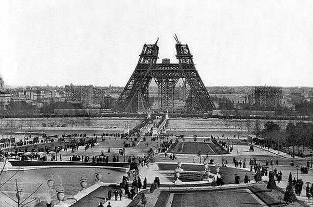 Construção da Torre Eiffel ? 1880el