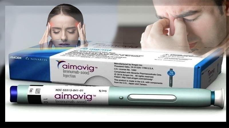 Novo medicamento: Erenumab é aprovado como nova profilaxia para enxaqueca