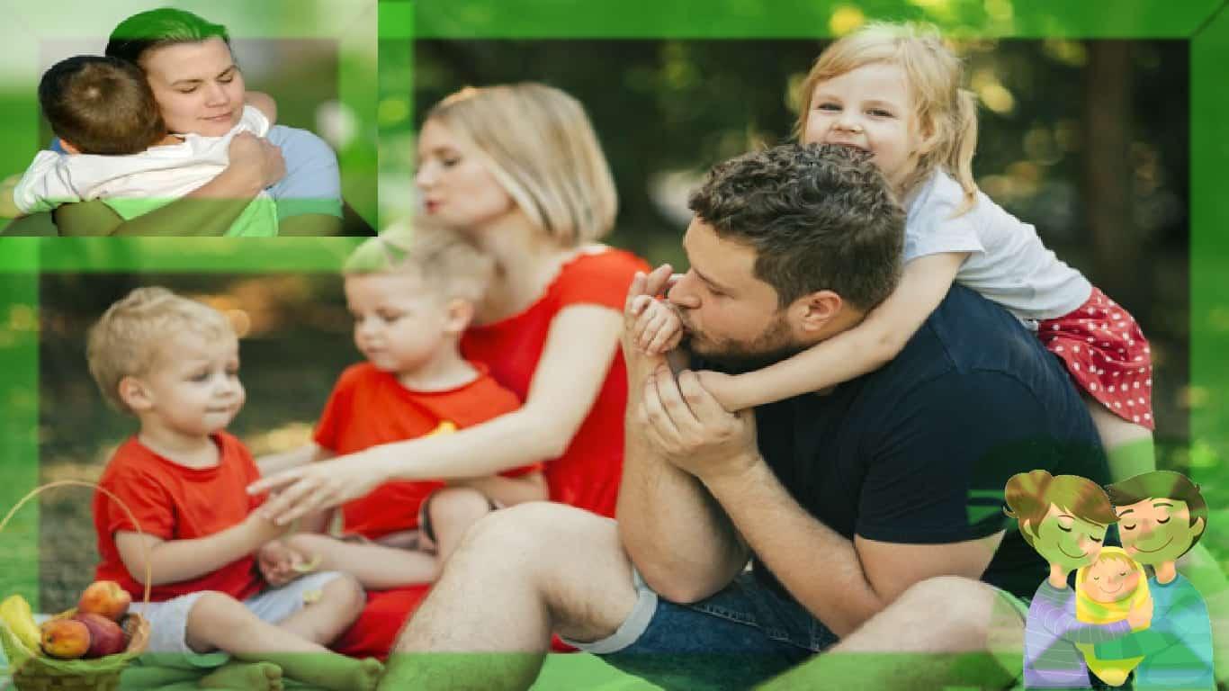 Os bebês entendem o que o abraço dos pais diz