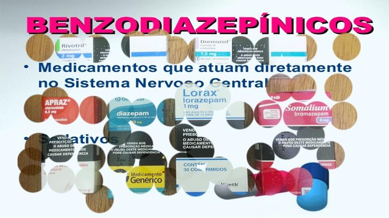 Os benefícios e riscos dos benzodiazepínicos
