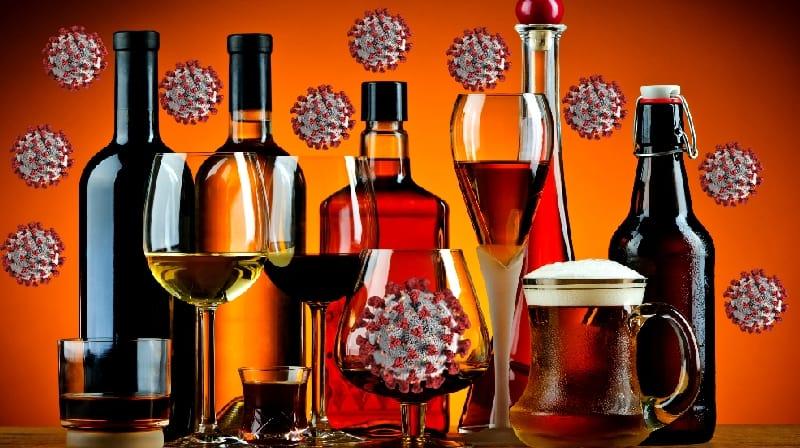Os médicos alertam contra o consumo excessivo de álcool durante a pandemia
