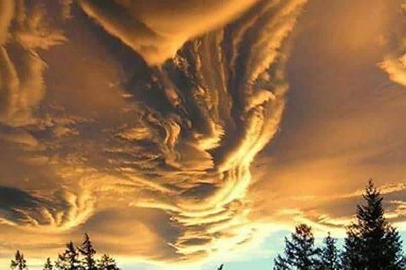 Nuvem de areia