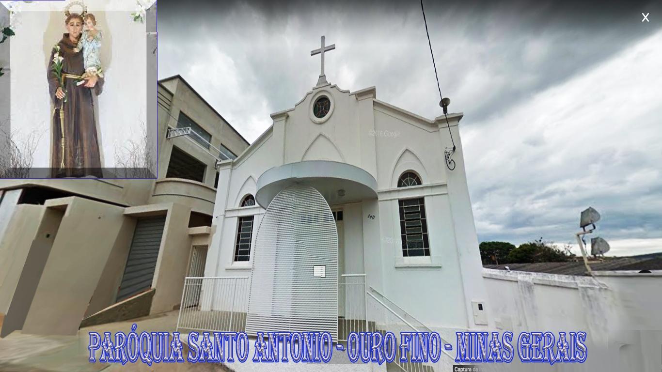 Paróquia Santo Antônio - Ouro Fino - Minas Gerais