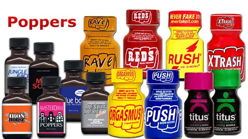 Poppers :efeitos seríssimos em sua saúde, cuidado!