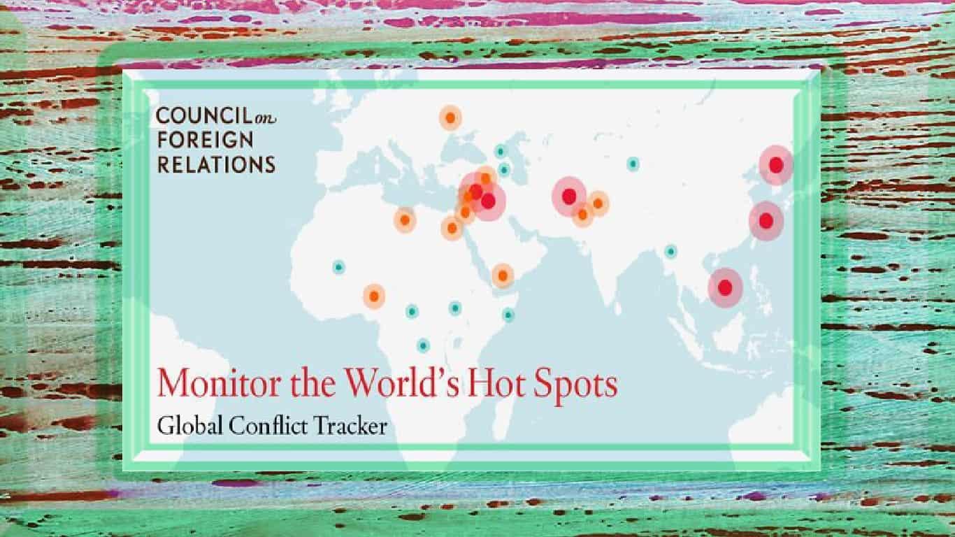 Rastreador de Conflitos Globais (CPA)