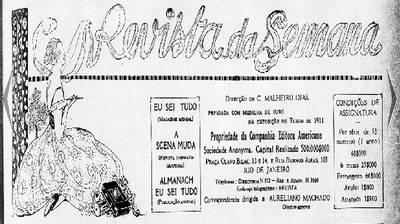 Revista da Semana 1922 - Rio de Janeiro
