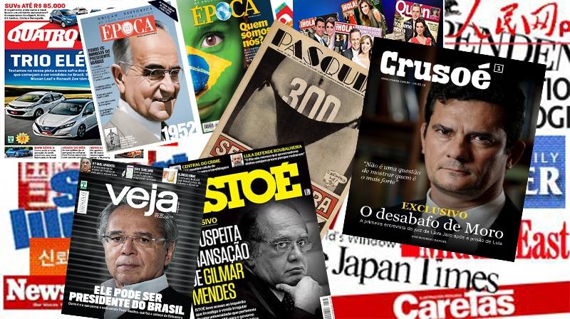 Revistas - Publicações - Semanais - Mensais
