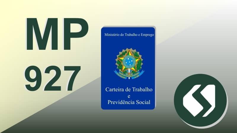 Medida Provisória 927 do Governo Federal