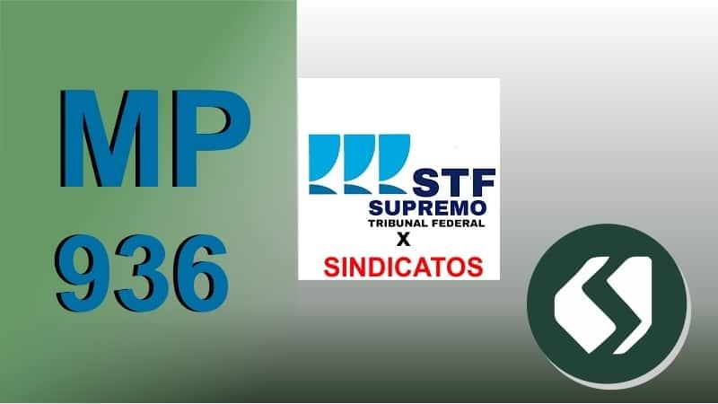 STF: Oposição do Sindicato ao acordo da MP936