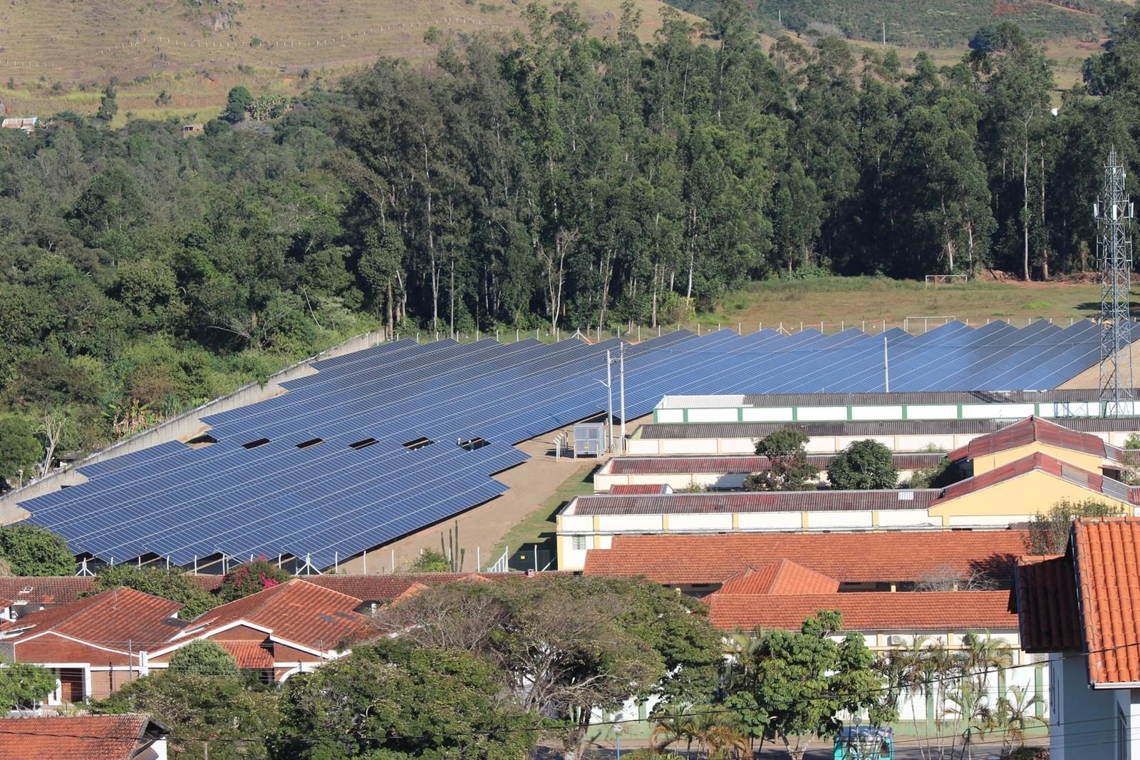 Avaliada em R$ 5 milhões, maior usina de geração de energia solar do Sul de Minas é inaugurada em Sa