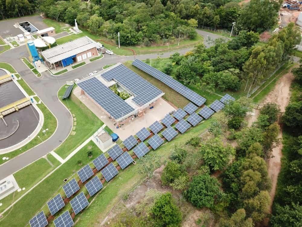Mogi Mirim será primeira cidade do Brasil a implantar energia solar no tratamento de esgoto urbano