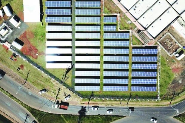 Usina mineira vai armazenar energia solar