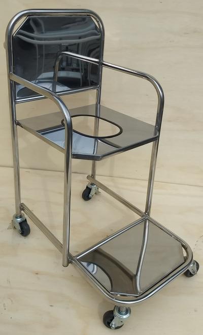 Cadeira p/ Banho Inox - Foto 1