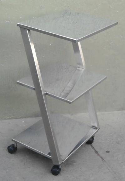 Mesa Z Inox 0,40 x 0,40 x 0,90 - Foto 1