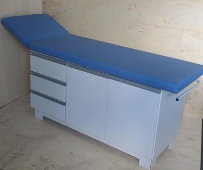 Mesa para exame com gabinete em MDF - Foto 1
