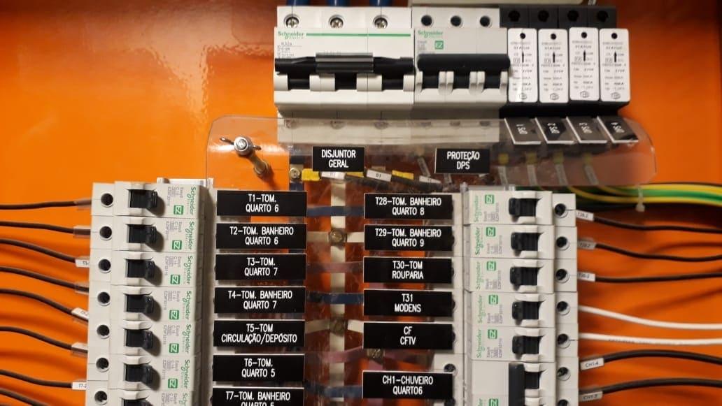 Manutenção/troca de disjuntor
