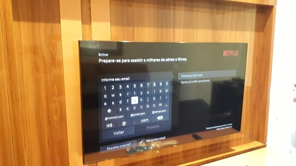 INSTALAÇÃO SUPORTE PARA TV