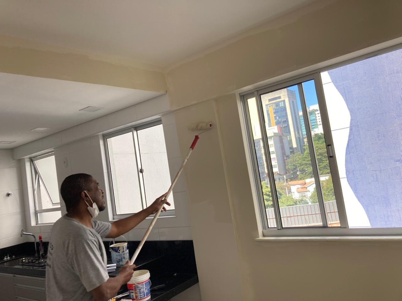 Pintura em apartamento para entrega