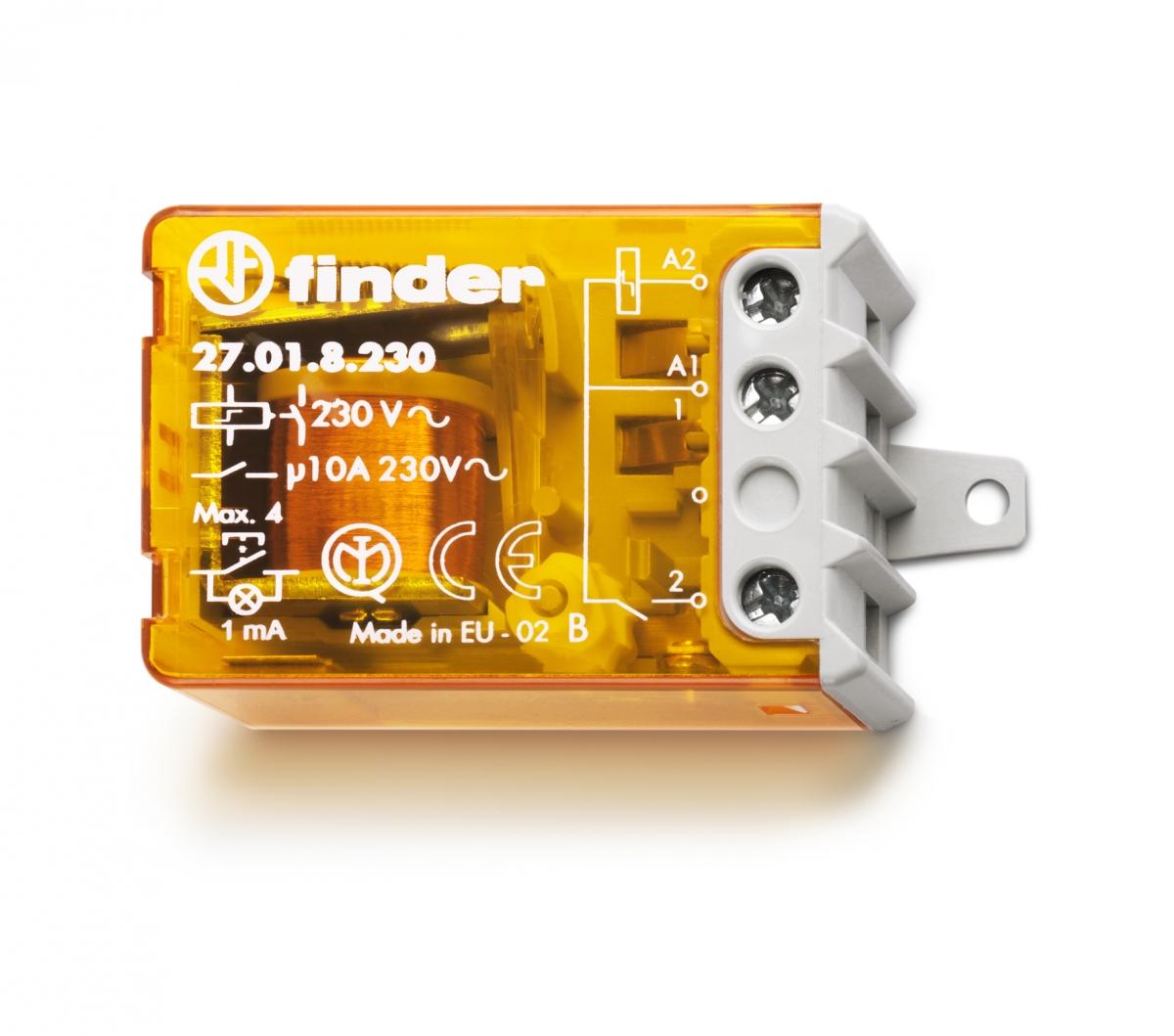 Finder: Relés,fontes,termostato - Foto 16