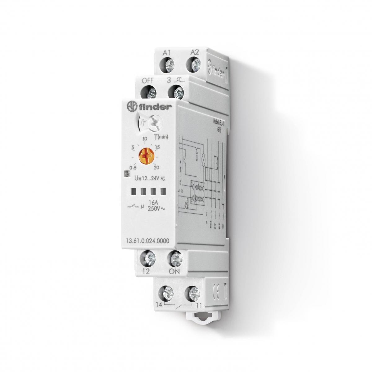 Finder: Relés,fontes,termostato - Foto 19
