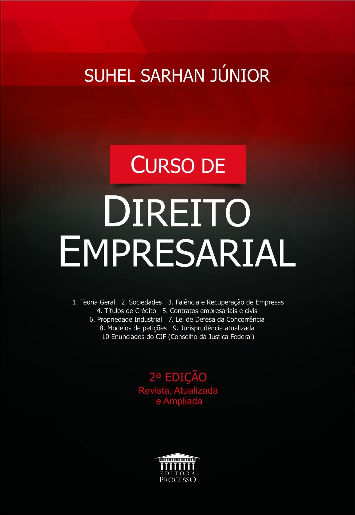 CURSO DE DIREITO EMPRESARIAL - 2ª EDIÇÃO