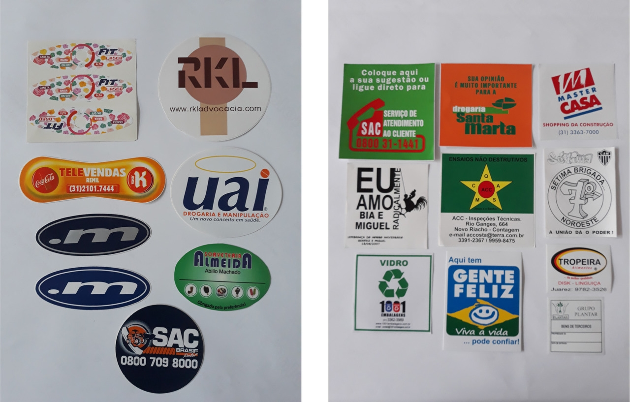 Etiqueta Vinil Branco - Foto 3