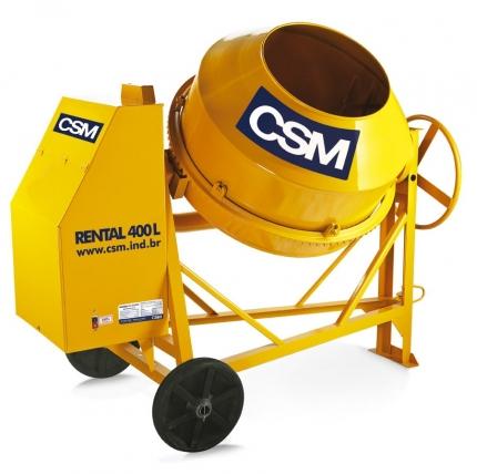 Betoneira CSM 400L modelo Rental - Foto 1