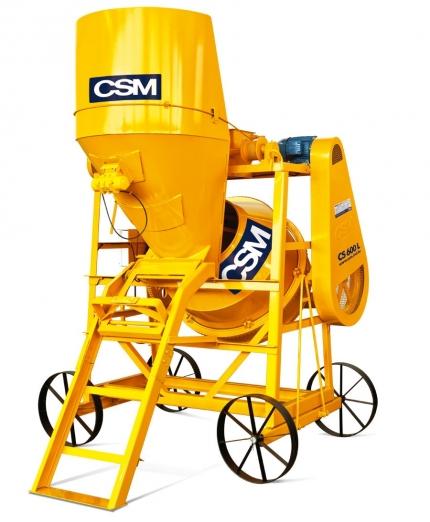 Betoneira CSM 600L Automatizada - Foto 1