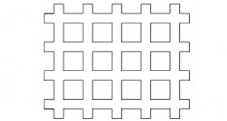 Concregrama 12 furos - Foto 1