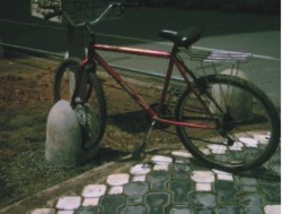 Forma bicicletário redondo - Foto 1