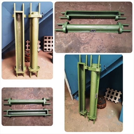 Forma metálica para cordão bauleado - Foto 1