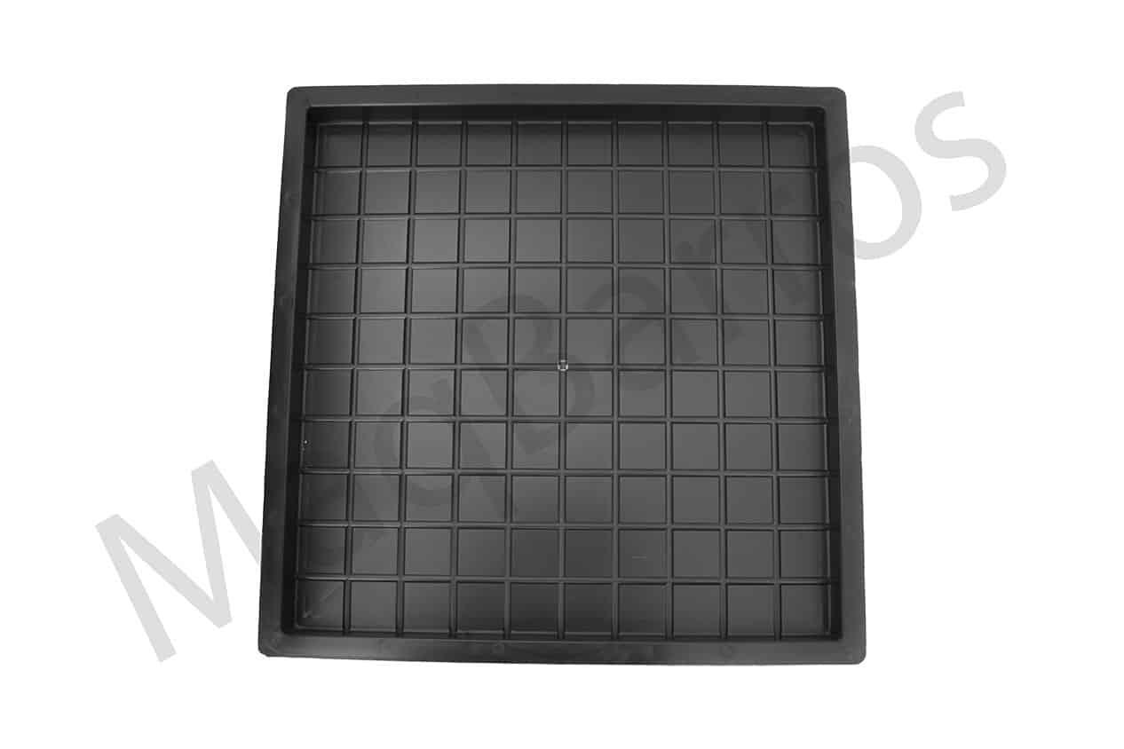 Ladrilho xadrez 100 quadros - Foto 1