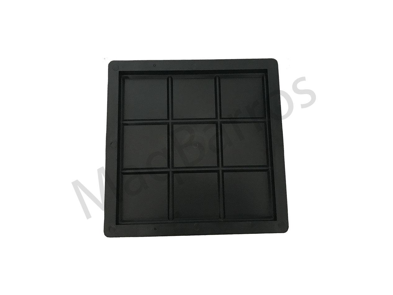 Ladrilho xadrez 9 quadros - Foto 1