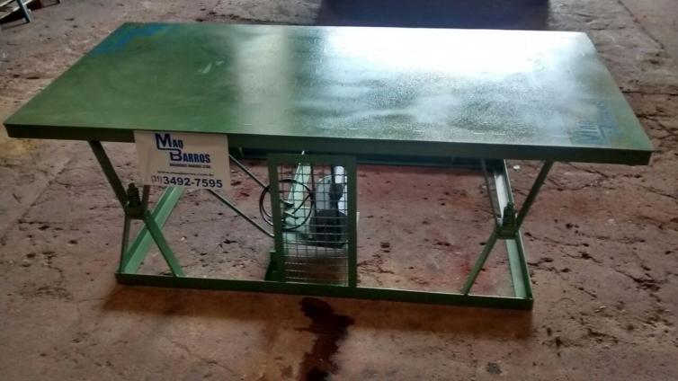 Mesa vibratória 2 x 1m - Sistema de mola/borracha - Foto 1