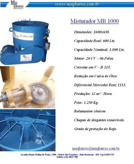 Misturador MB-1000L - Foto 1