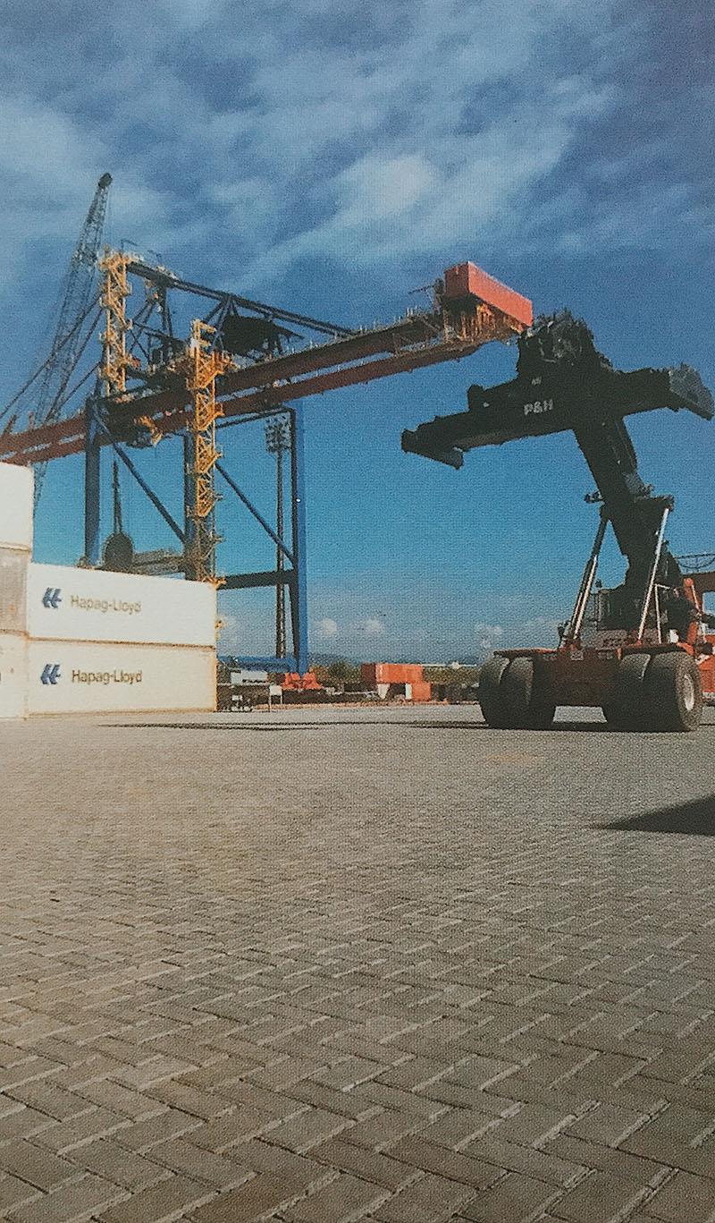 Tecon - Terminal de conteineres / Guarujá -SP