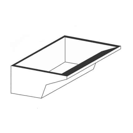 Tanque simples pequeno com esfregadeira - Foto 1