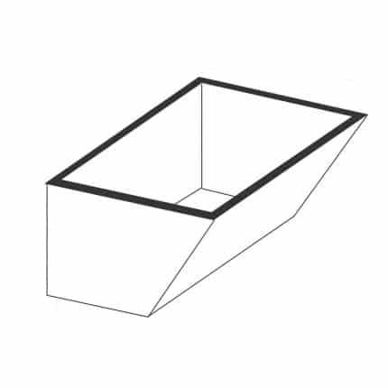 Tanque simples sem esfregadeira - Foto 1