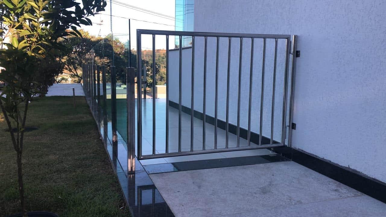 Portão em Aço Inox - Foto 1