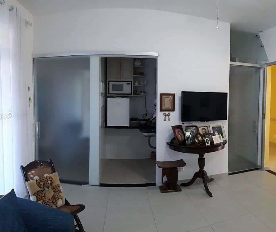 closet, cozinha e banheiro da suite 3