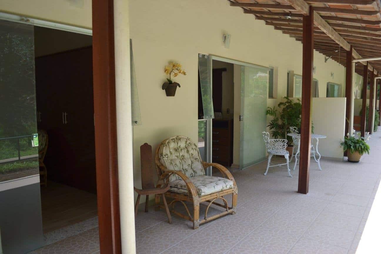 varanda acesso suite