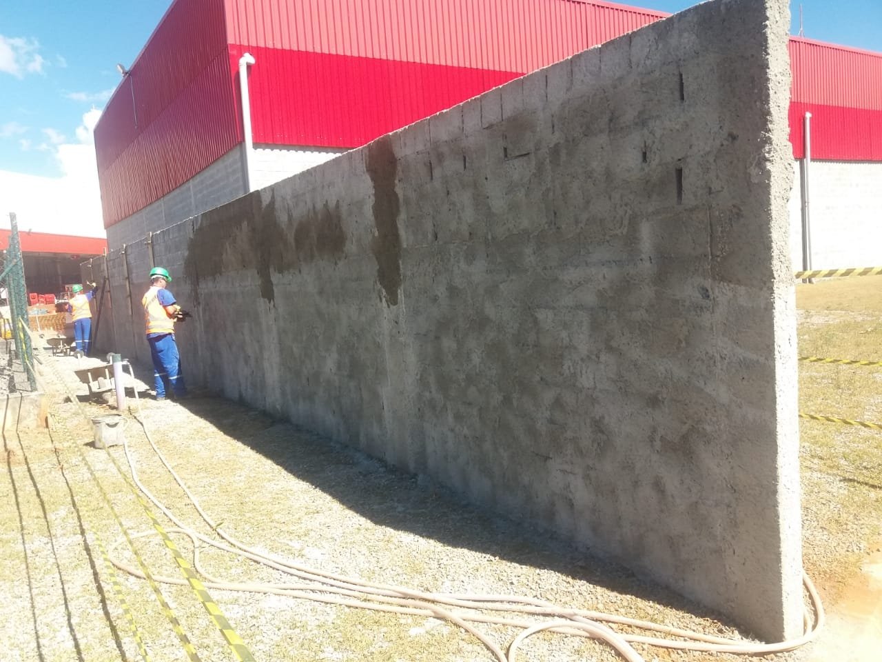 CONSTRUÇÃO DE PAREDE CORTA-FOGO - Foto 6