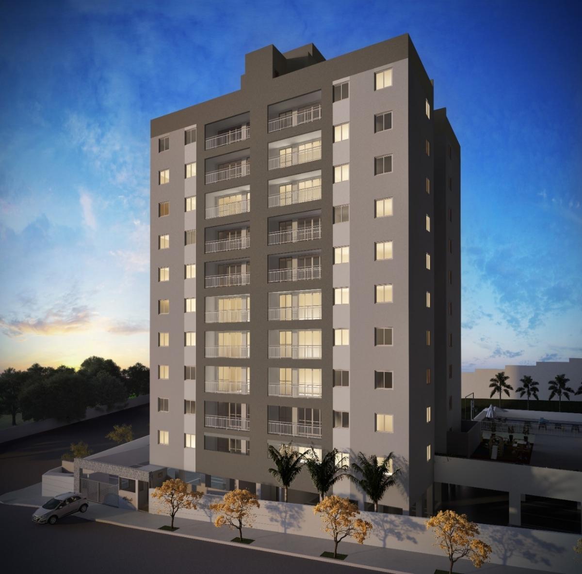 Apartamento Bairro Floramar 3 quartos com Varanda - Foto 1