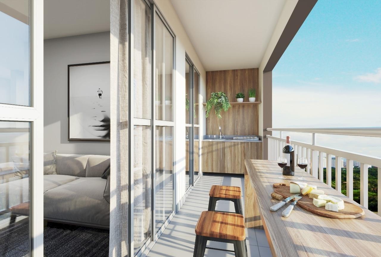 Apartamento Bairro Floramar 3 quartos com Varanda - Foto 4