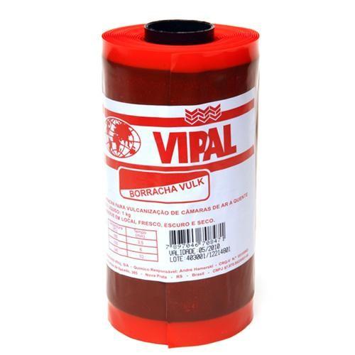 Borracha Vulck 160 MM x 1,0 MM ( 01 KG ) (Vulcanit - Foto 1